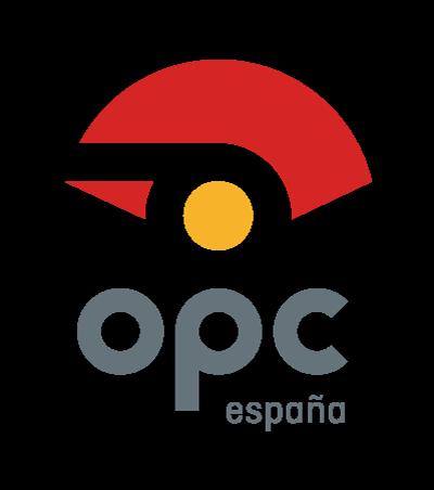 Logotipo OPC españa